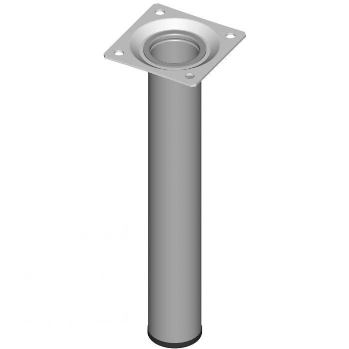 Mööblijalg Element System ümar alumiinium 200 mm ø 30 mm