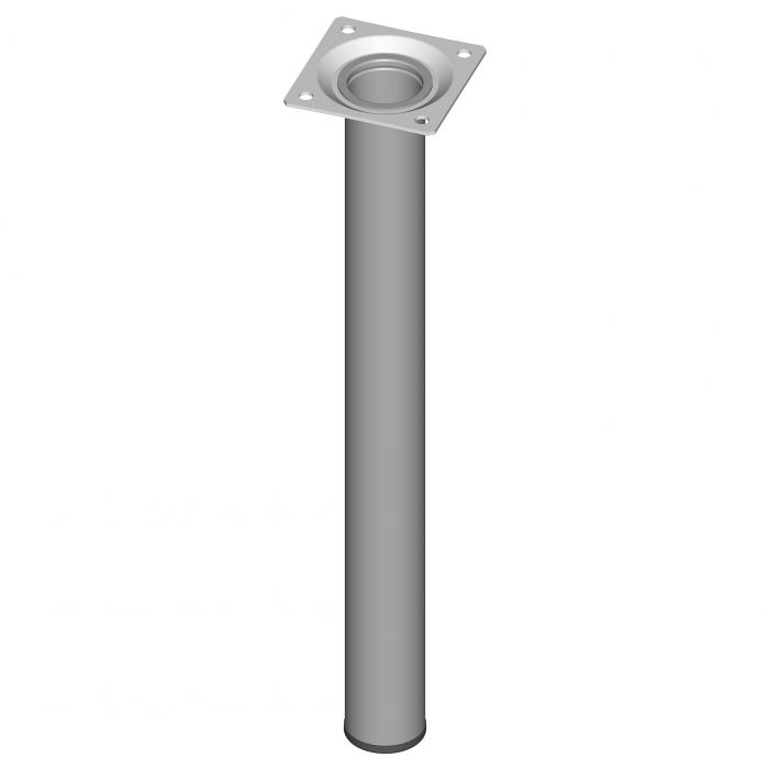 Mööblijalg Element System ümar alumiinium 300 mm ⌀ 30 mm