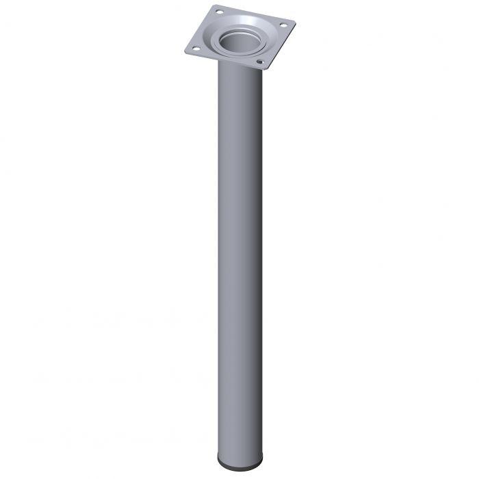 Mööblijalg Element System ümar kroom 400 mm ⌀ 30 mm