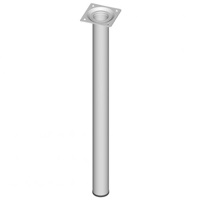 Mööblijalg Element System ümar valge 500 mm ⌀ 30 mm