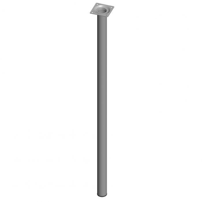 Mööblijalg Element System ümar valge 700 mm ⌀ 30 mm