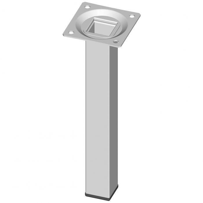 Mööblijalg Element System kandiline valge 200 mm 25 x 25 mm