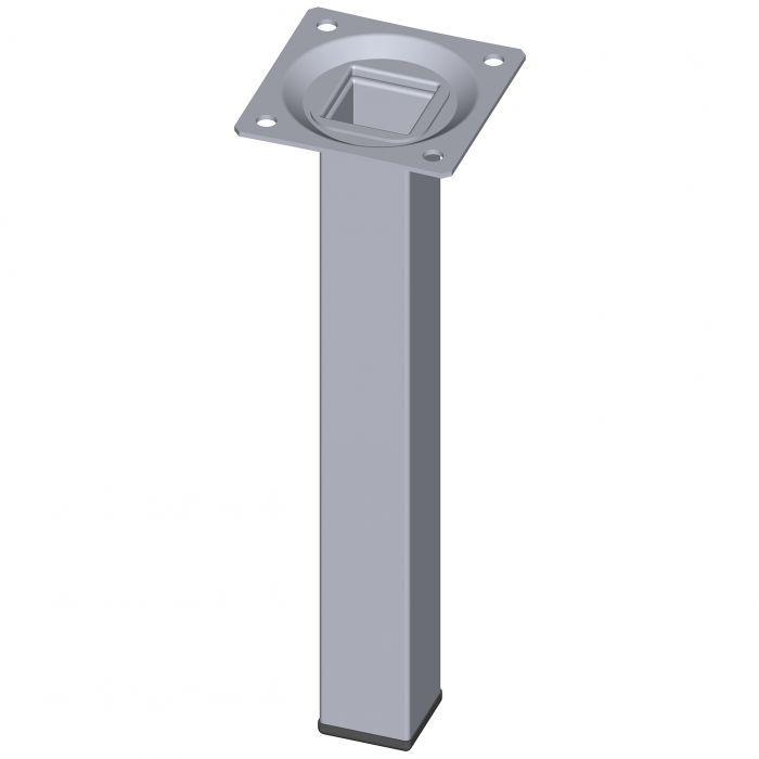 Mööblijalg Element System kandiline kroom 200 mm 25 x 25 mm