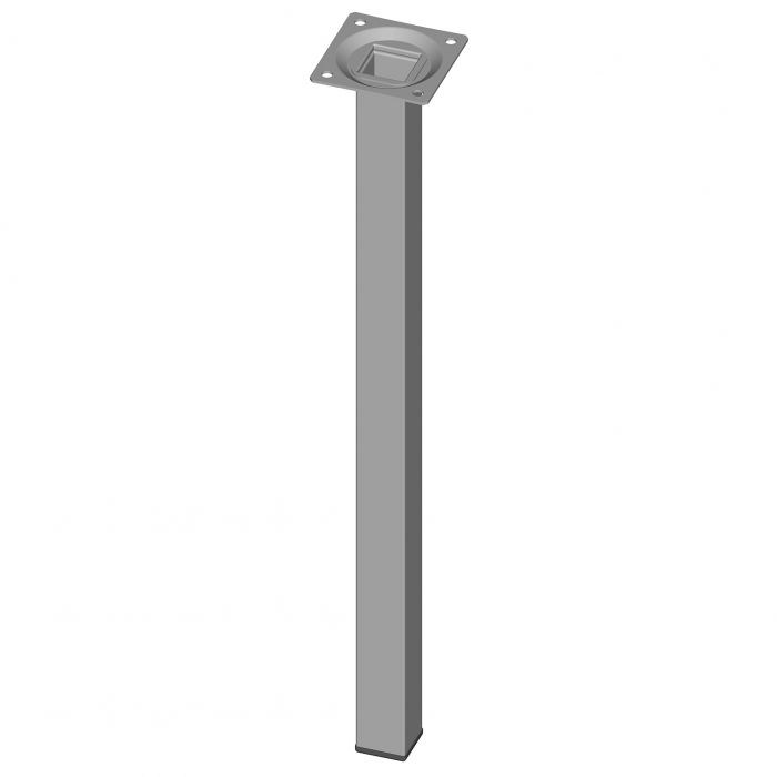 Mööblijalg Element System kandiline valge 400 mm 25 x 25 mm