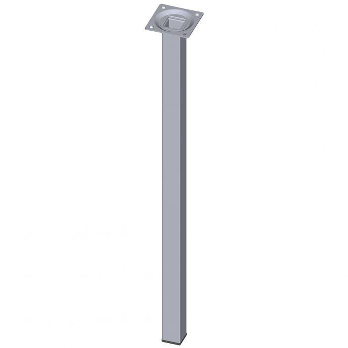 Mööblijalg Element System kandiline kroom 500 mm 25 x 25 mm