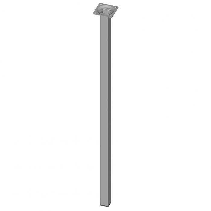 Mööblijalg Element System kandiline valge 700 mm 25 x 25 mm