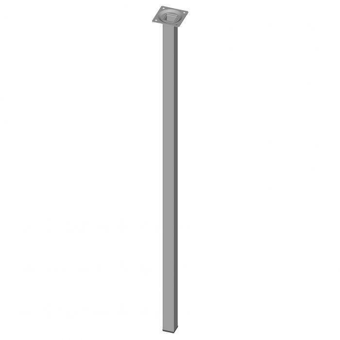 Mööblijalg Element System kandiline alumiinium 800 mm 25 x 25 mm