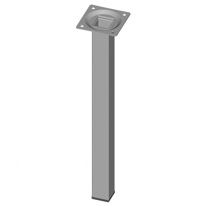 Mööblijalg Element System kandiline valge 300 mm 25 x 25 mm