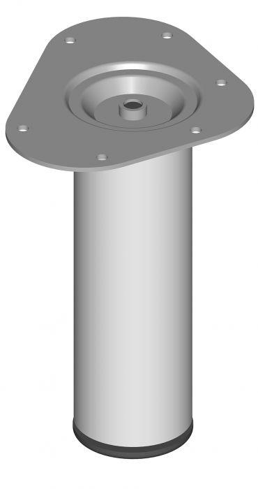 Mööblijalg Element System ümar valge 200 mm ⌀ 60 mm