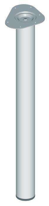 Mööblijalg Element System ümar kroom 700 mm ⌀ 60 mm