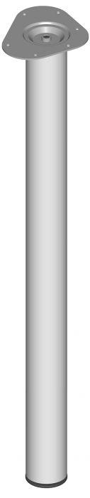Mööblijalg Element System ümar valge 800 mm ⌀ 60 mm