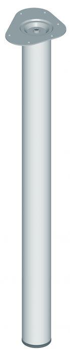 Mööblijalg Element System ümar kroom 800 mm ⌀ 60 mm