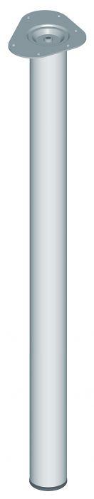 Mööblijalg Element System matt kroom 900 mm ø 60 mm
