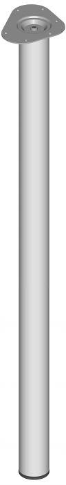 Mööblijalg Element System ümar valge 1100 mm ⌀ 60 mm