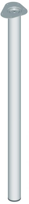 Mööblijalg Element System ümar kroom 1100 mm ⌀ 60 mm