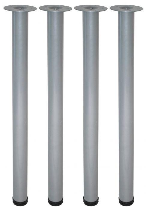 Mööblijalgade komplekt 4 tk Element System ümar kroom 700 mm ⌀ 60 mm