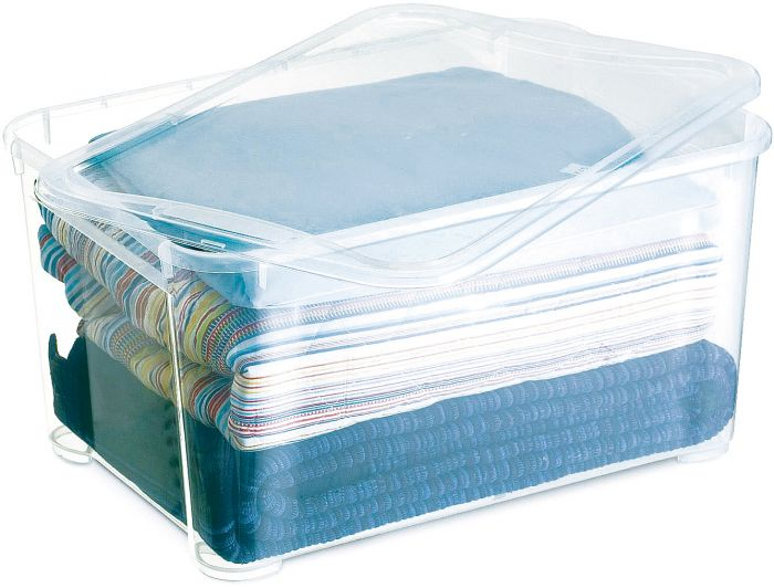 Säilituskast regalux Clear Box 54,8 x 38,4 x 28,3 cm
