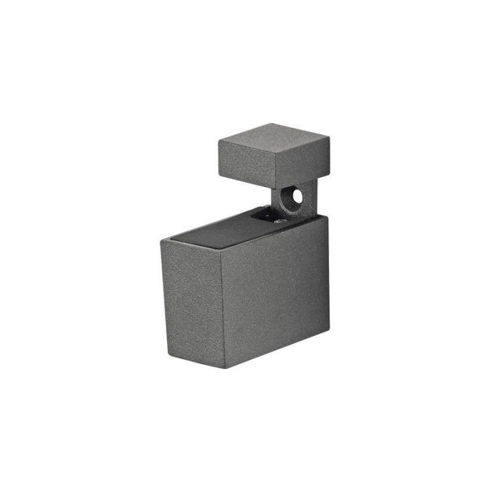Riiulikandurid Cuadro sädelev hall 6-20 mm