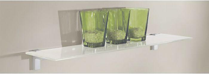 Klaasriiul Glassline Square valge 600 x 200 x 8 mm
