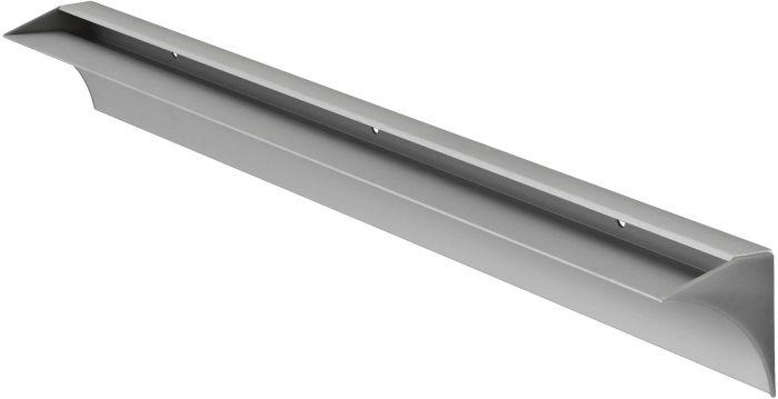 Riiulikandur Glass hõbedane 600 x 44 x 55 mm