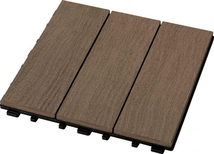 Puitkomposiitplaadid 4 tk/pk 30 x 30 cm