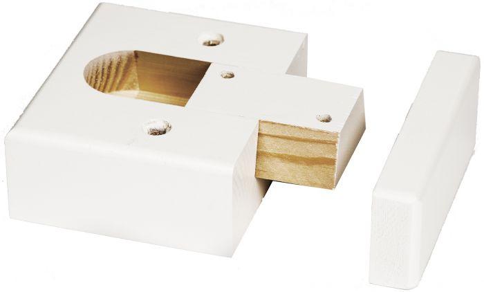 Lae- ja põranda detail Lundbergs  45 x 92 x 92 mm