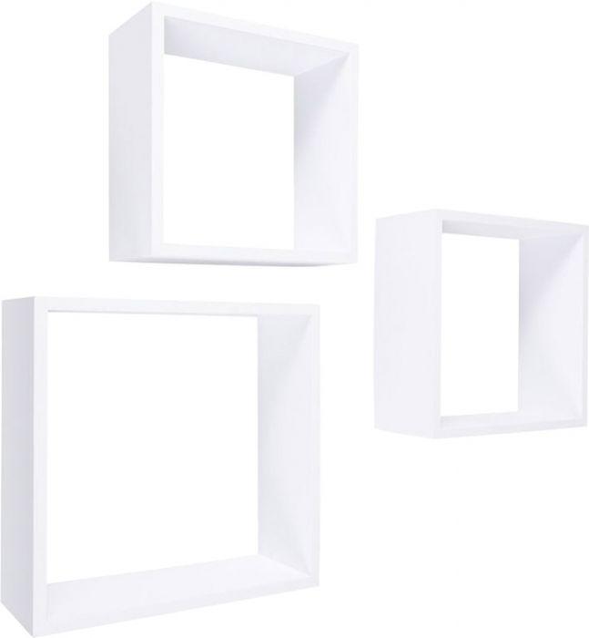 Seinariiulid Frame valge 3 tk