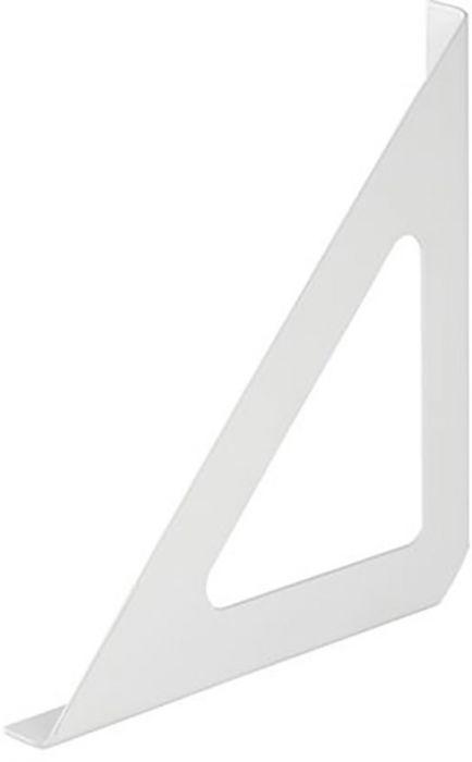 Riiulikandur Tri valge 190 x 190 x 18 mm