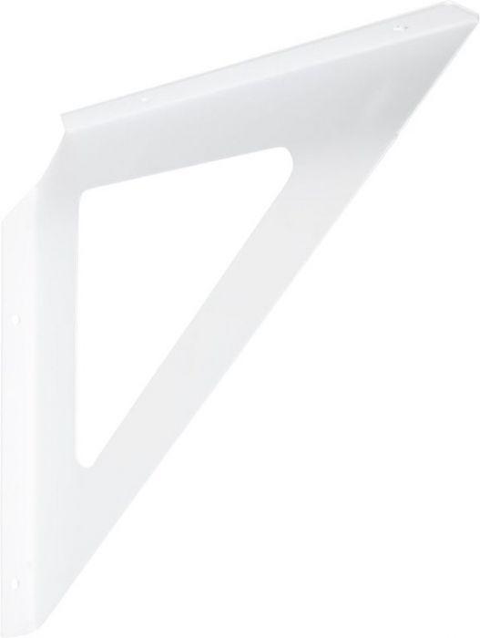 Riiulikandur Tri valge 240 x 240 x 18 mm