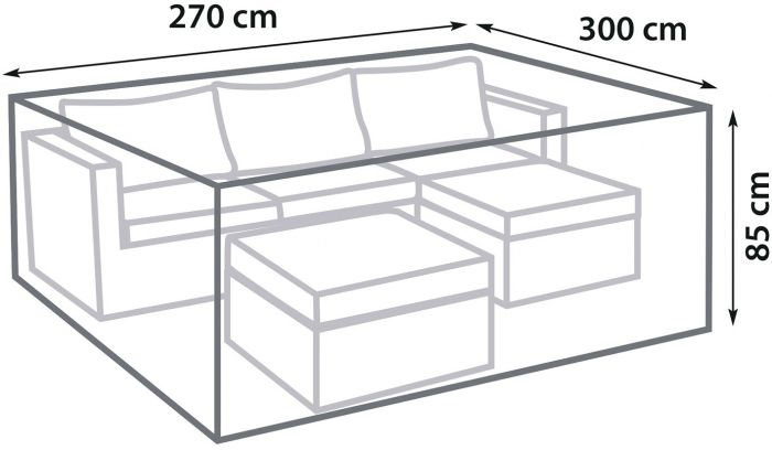 Mööblikate SunFun Lounge 270 x 300 x 85 cm