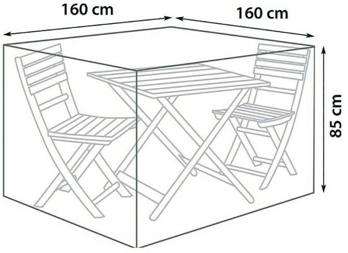 Mööblikate SunFun Balkon Ø 160 x 85 cm