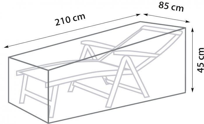 Mööblikate SunFun lamamistoolile 210 x 85 x 45 cm