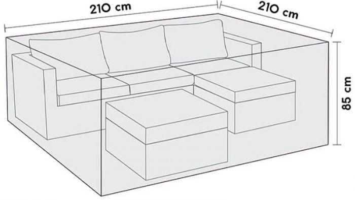 Mööblikate Sensum mööblile210 x 210 x 85 cm