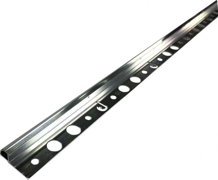 Plaadiliist hõbedane, 10 x 2500 mm