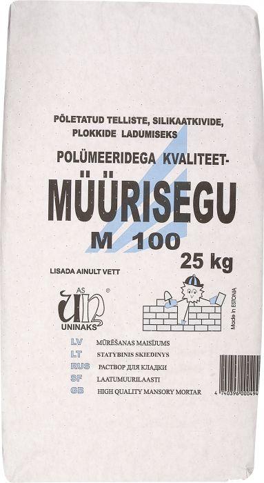 Müürisegu Uninaks M100 25 kg