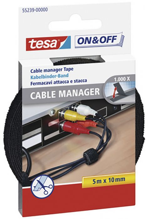 Takjapael Cable Manager 5 m x 10 mm, must