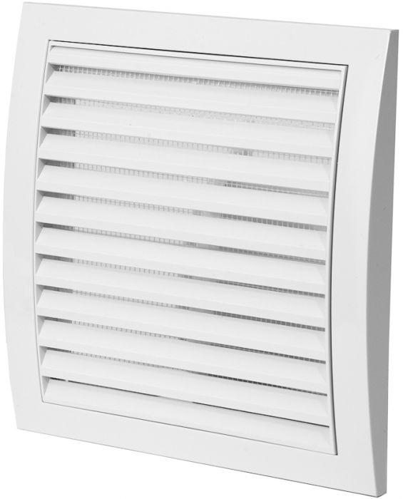 Ventilatsioonirest Europlast valge 190 x 190 mm