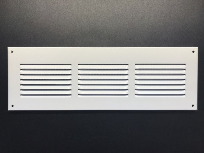 Ventilatsioonirest valge 30 x 10 cm