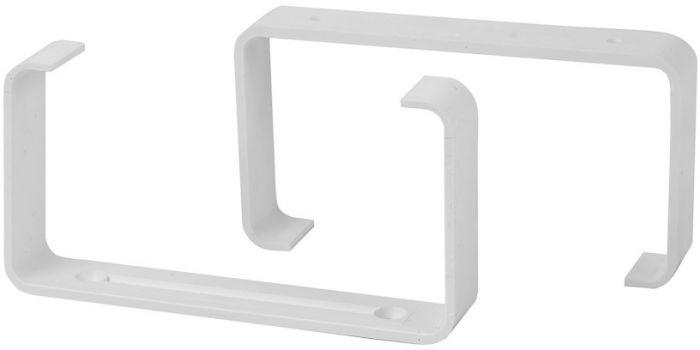 Kinniti Europlast valge 110 x 55 mm