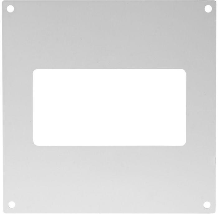 Ventilatsiooniava kate Europlast valge 110 x 55 mm