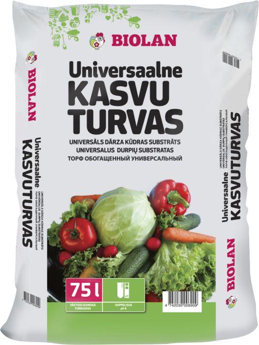 Universaalne Kasvuturvas Biolan 75 l