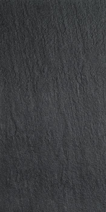 Põrandaplaat Futura Rustic must 30 x 60 cm