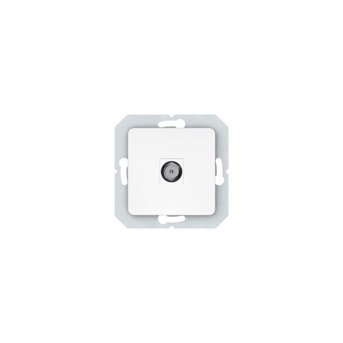 Süvistatav TV-pesa SL-250 valge