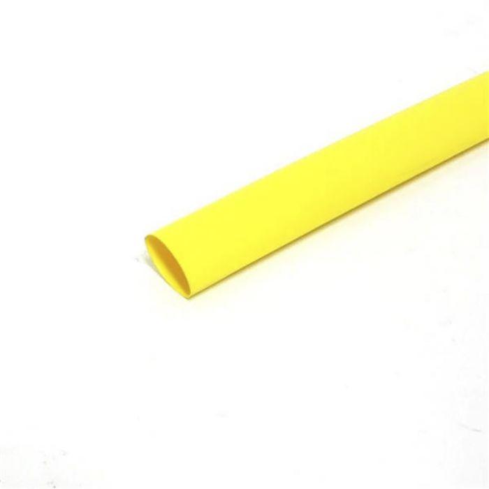 Termokahanev toru 6,4/3,2 mm kollane