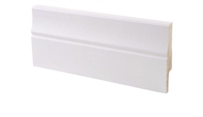 Põrandaliist mänd valge 16 x 70 x 3300 mm