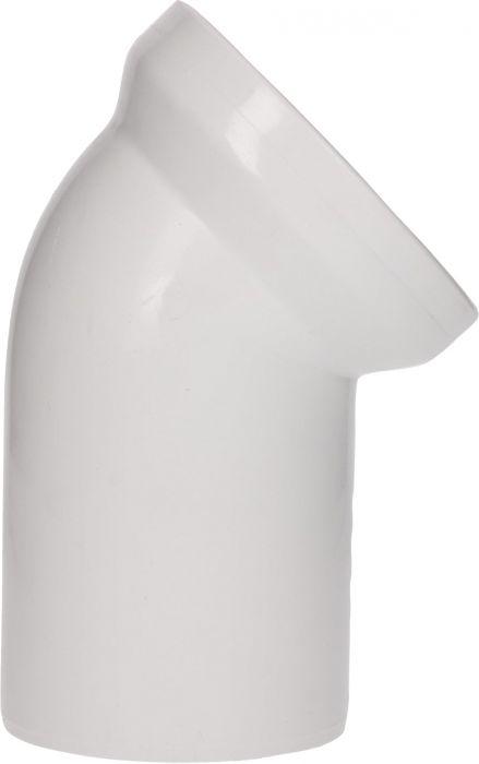 WC ühendustoru 45°