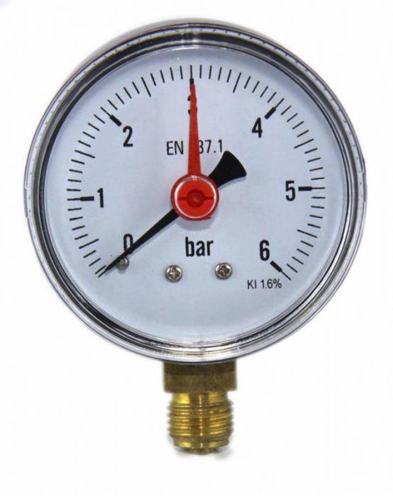 Manomeeter 0-10 bar ¼
