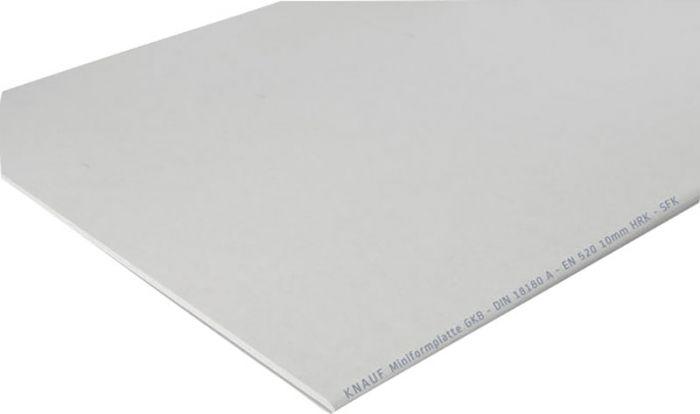 Standardkipsplaat GKB/A White mini 12,5 x 900 x 1300 mm, 1,17 m²