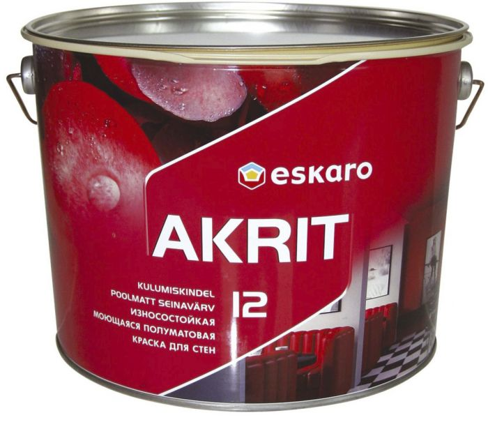 Seinavärv Eskaro Akrit 12 9 l