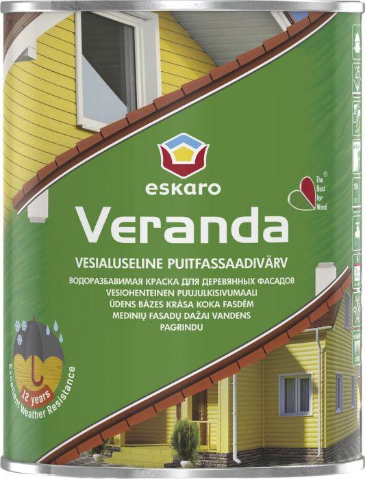 Fassadivärv Eskaro Veranda 0,9 l